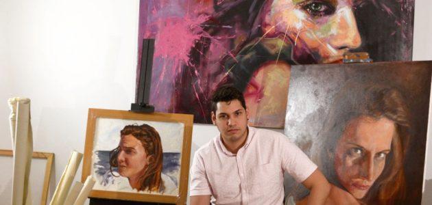 Artist Adrian Arrieta