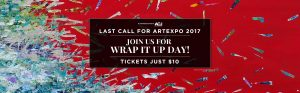 $10 tickets to Artexpo