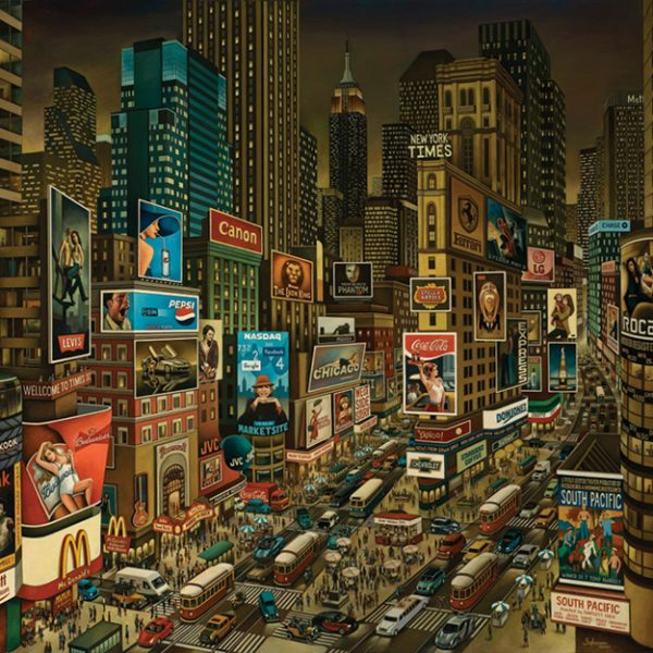 Times Square by Carlos Alberto Bahamón