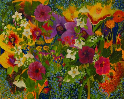 In My Garden VIII by Anne Swan Moore