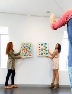 Don't Hang your art too high