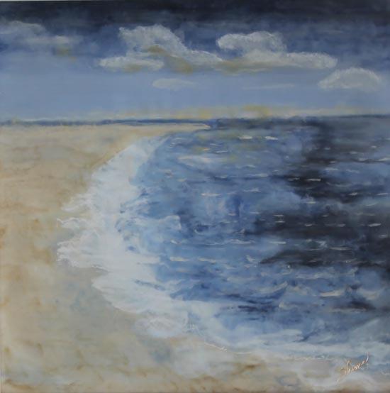 Celeste and Sea by Shima Shanti