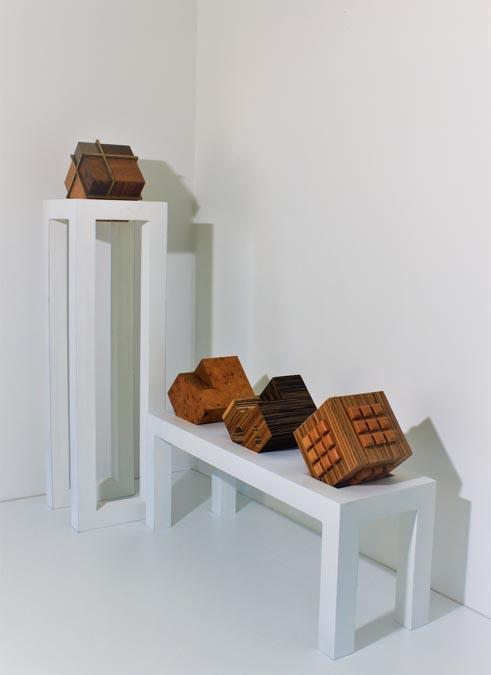 Cubes Composition #44 by Orest Parobok