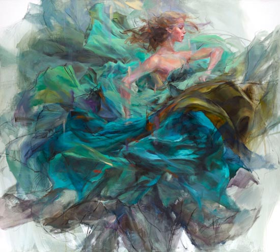 Emerald Splendor by Anna Razumovskaya