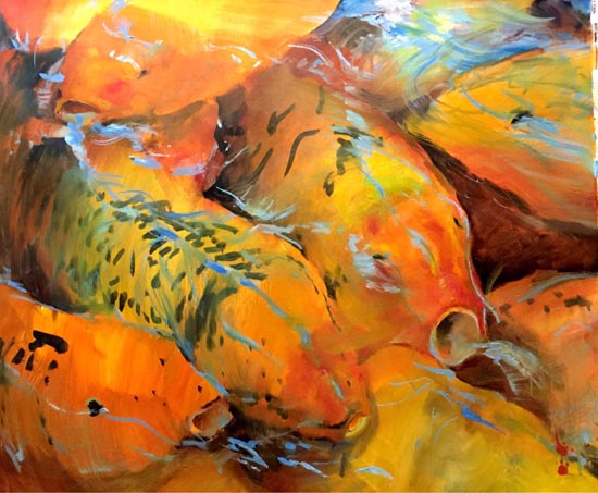 Fishes by Daniel Yu