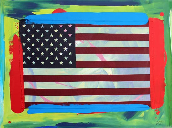 Made In The USA Series: Work #11 by Ligel