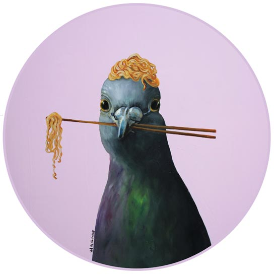 Pigeon VII by JJ Galloway