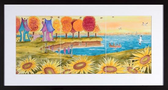 Temps d'Automne by Linda Molloy
