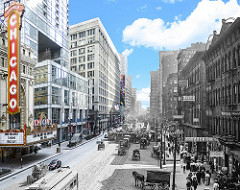 State Street South of Lake Street, Chicago