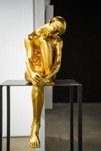 Seated Man by Bob Clyatt