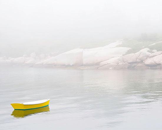 Yellow Boat by Maddi Ring
