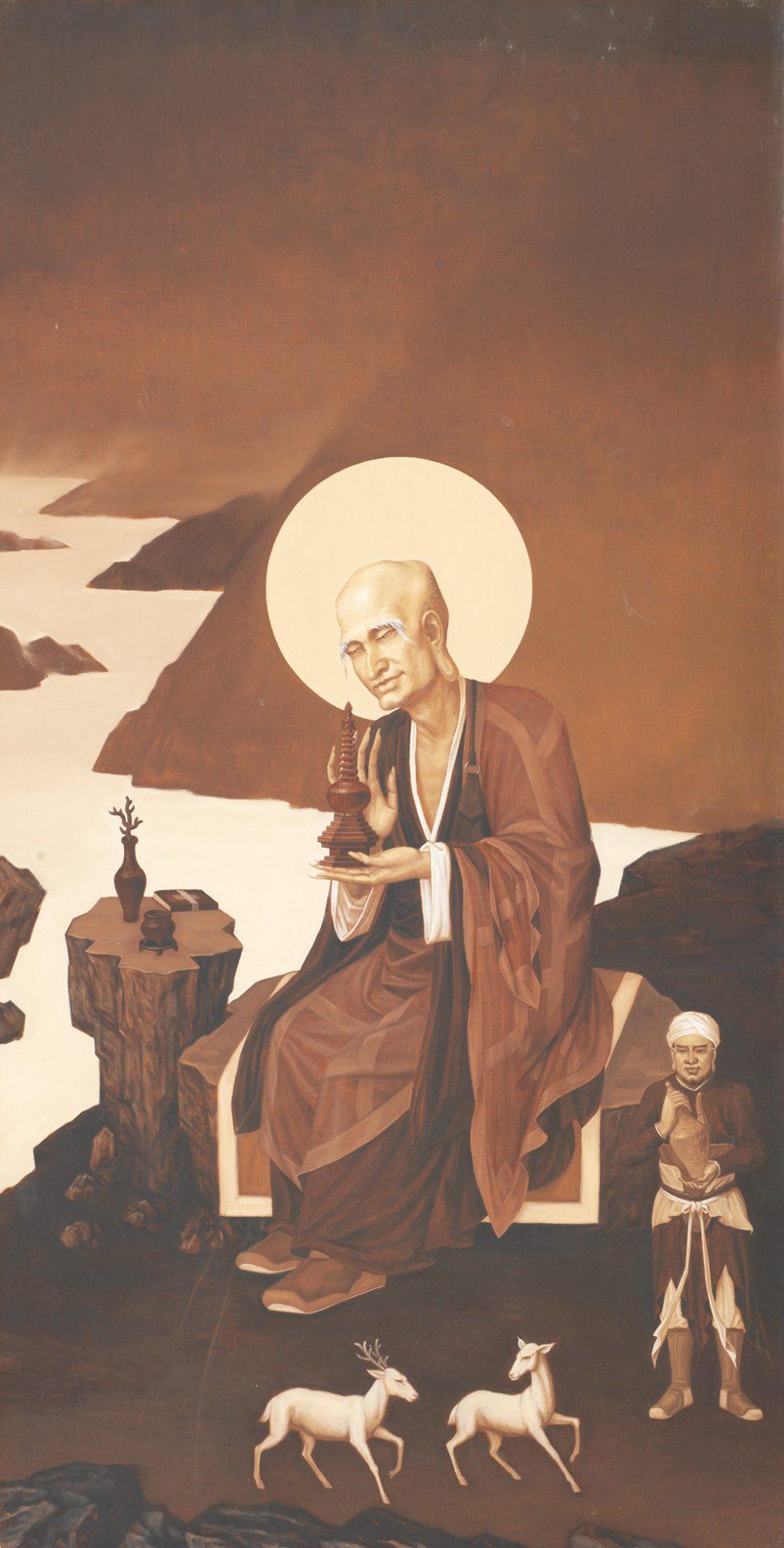 Arhatabheda by Tong Chengming