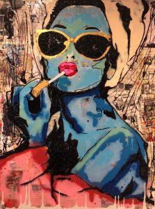 Audrey by Mike Raz