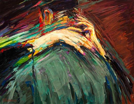Baiser Vole Stolen Kiss by Serge Ovcharuk
