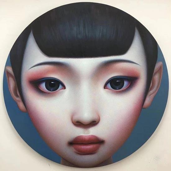 Beijing Girl by Zhang Xiangming
