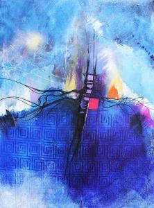 Flying Rain by Stephen Blancett