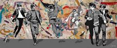 Holy Beatles, Batman by Ceravolo