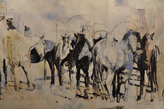 Horses Without Borders by Matilde Crosetti