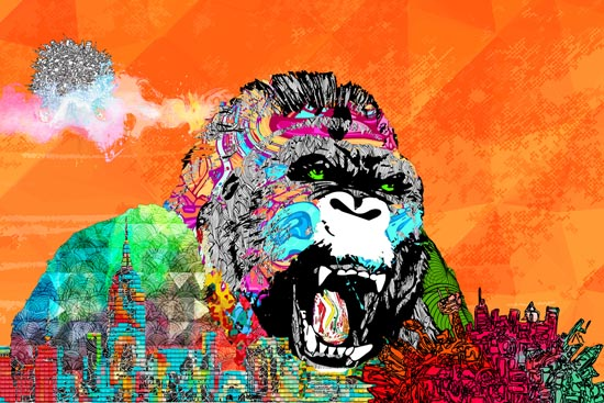 The Kingkongness by Matthew Choy and Camilla Moen