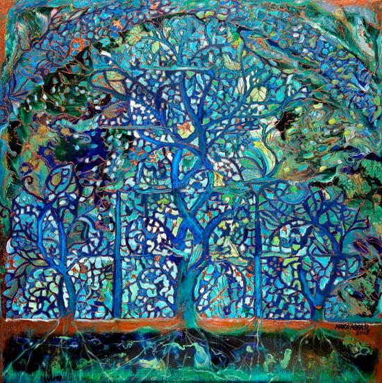 Lapis Tree of Life by Maira Abbasi