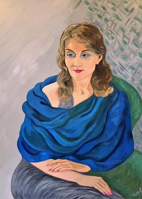 Mona by Elena Dobrovolskaya