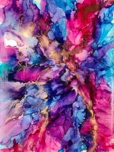 Purple Dream by Aneela Fazal