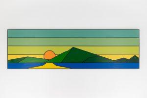 Reservoir Sunset 1 by Todd Koelmel