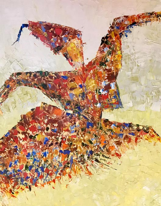 The Swirl of Life by Rita BasuMallick