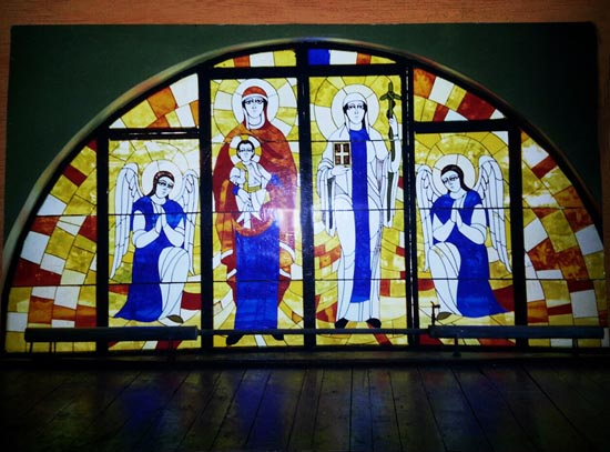 Stained Glass Missionary Center of Tsageri by Irakli Janelidze