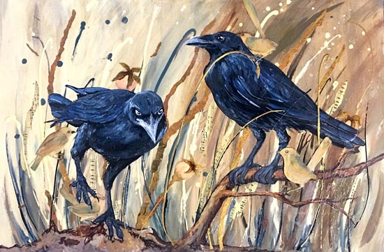 Stone the Crows by Victoria Velozo