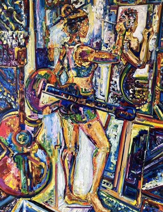 The Painter by Renata Cuellar