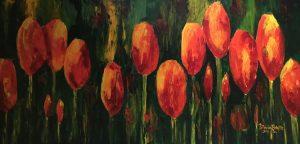 Tulip Abundance by Patricia Brintle