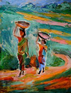 Women in India by Giorgi Bliadze